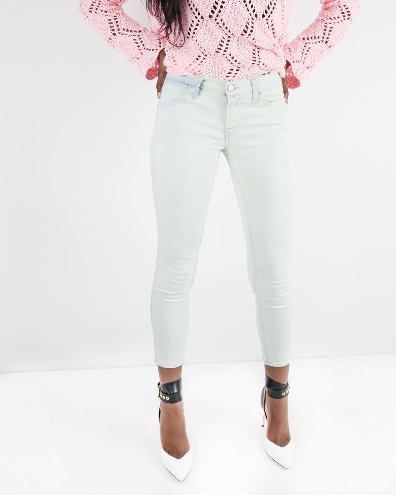 Crop jeans turquoise Jbrand
