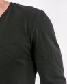 T-shirt style oversize noir