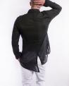 Chemise noir en coton raffiné Lost & Found