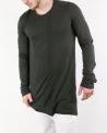 T-shirt ample noir