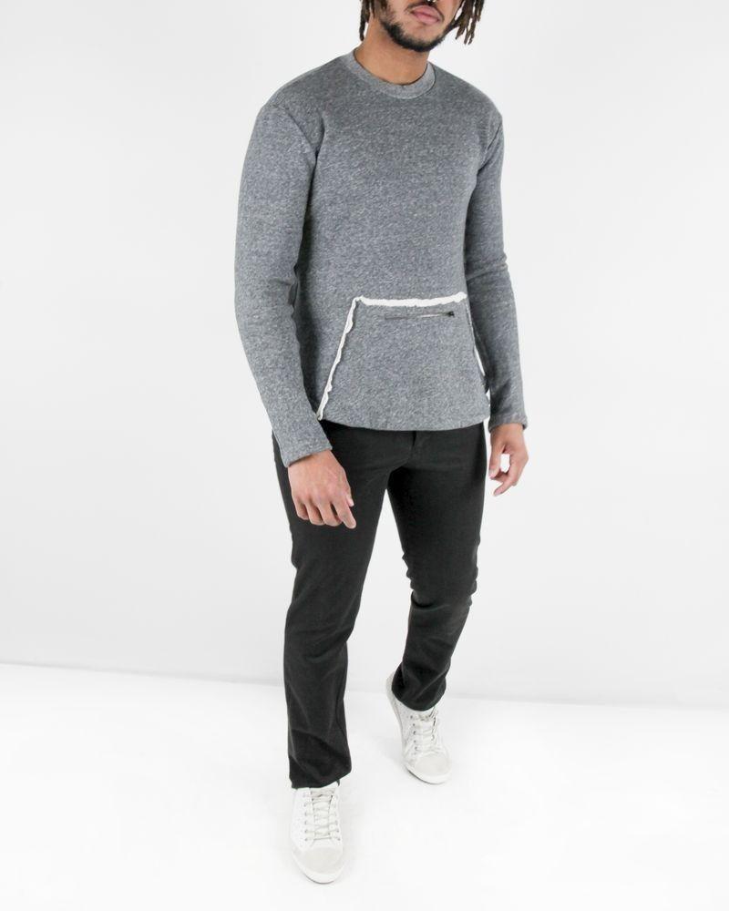Pantalon regular en coton noir Roberto Cavalli