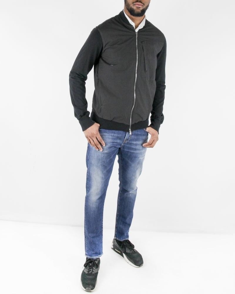 Blouson en coton noir Lost & Found