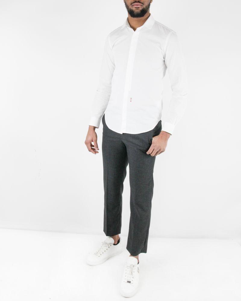 Pantalon tailleur  gris  John Galliano