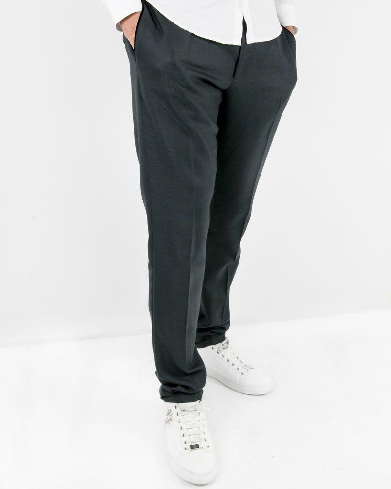 Pantalon noir tailleur en laine Lords & Fools