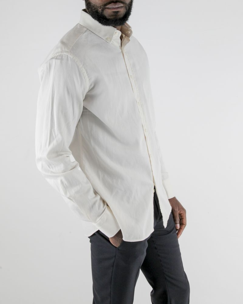 Chemise blanc cassé Dickson
