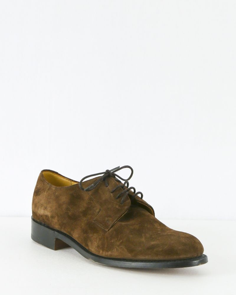 Chaussures en cuir marron Edition M.R