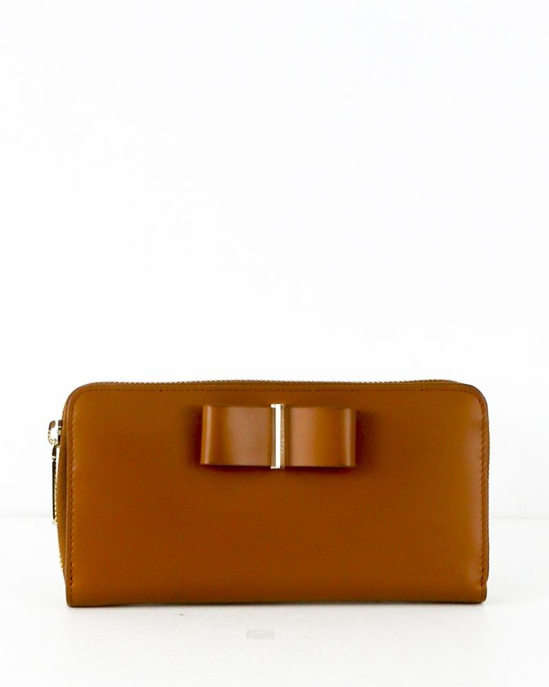 Portefeuille marron Hugo Boss