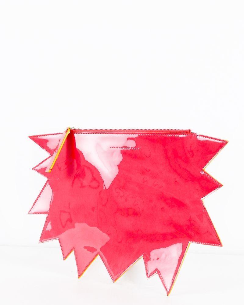 Pochette rose à forme étoilé Christopher Kane
