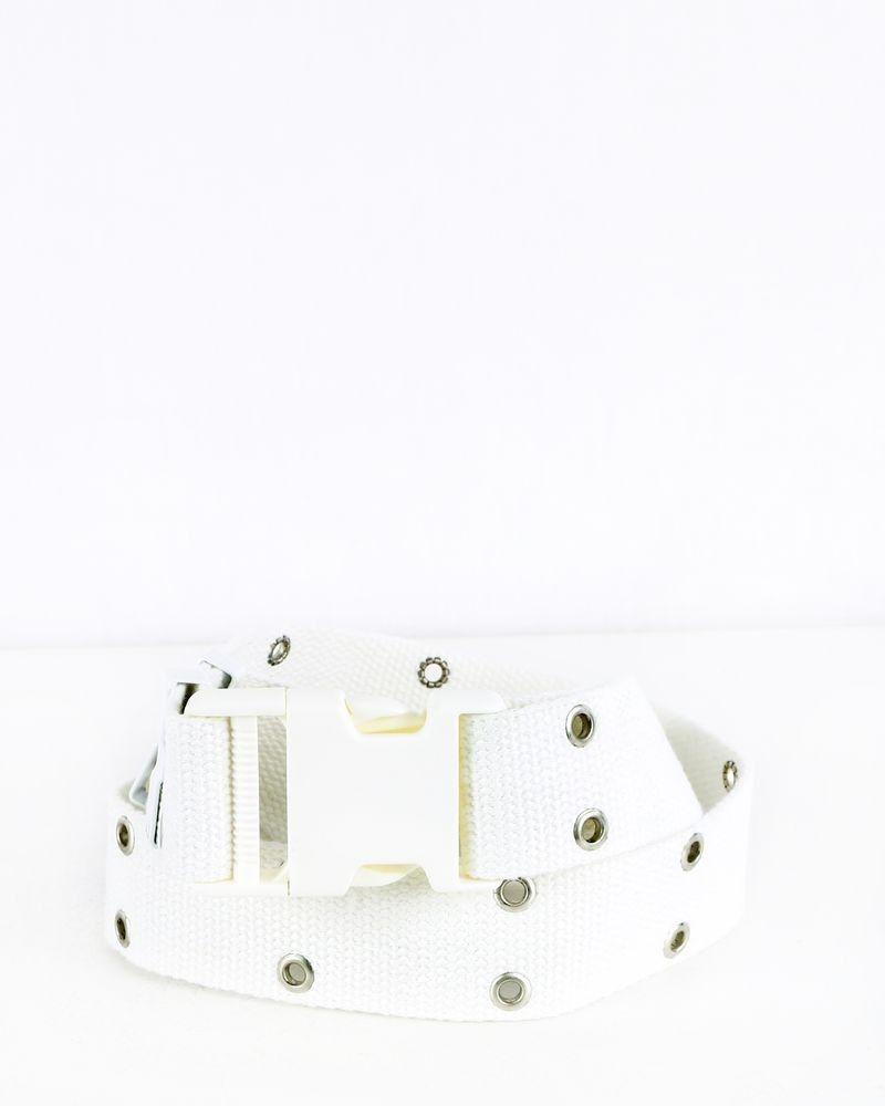 Ceinture blanche à clip Maison Margiela