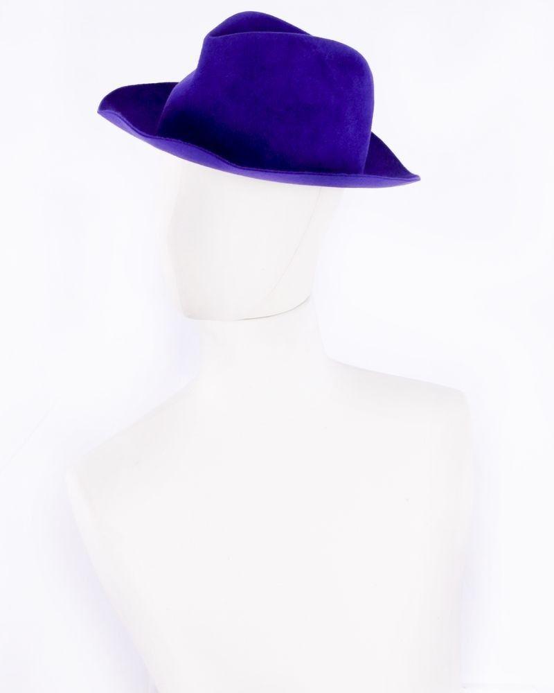 Chapeau violet Forte Forte