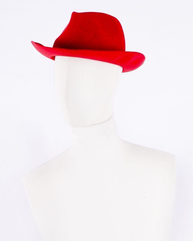 Chapeau rouge Forte Forte