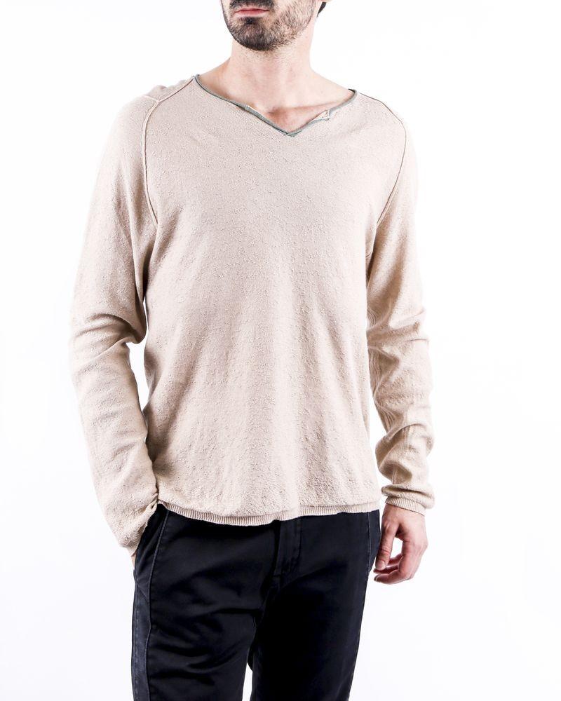 Pull en coton beige Zadig & Voltaire