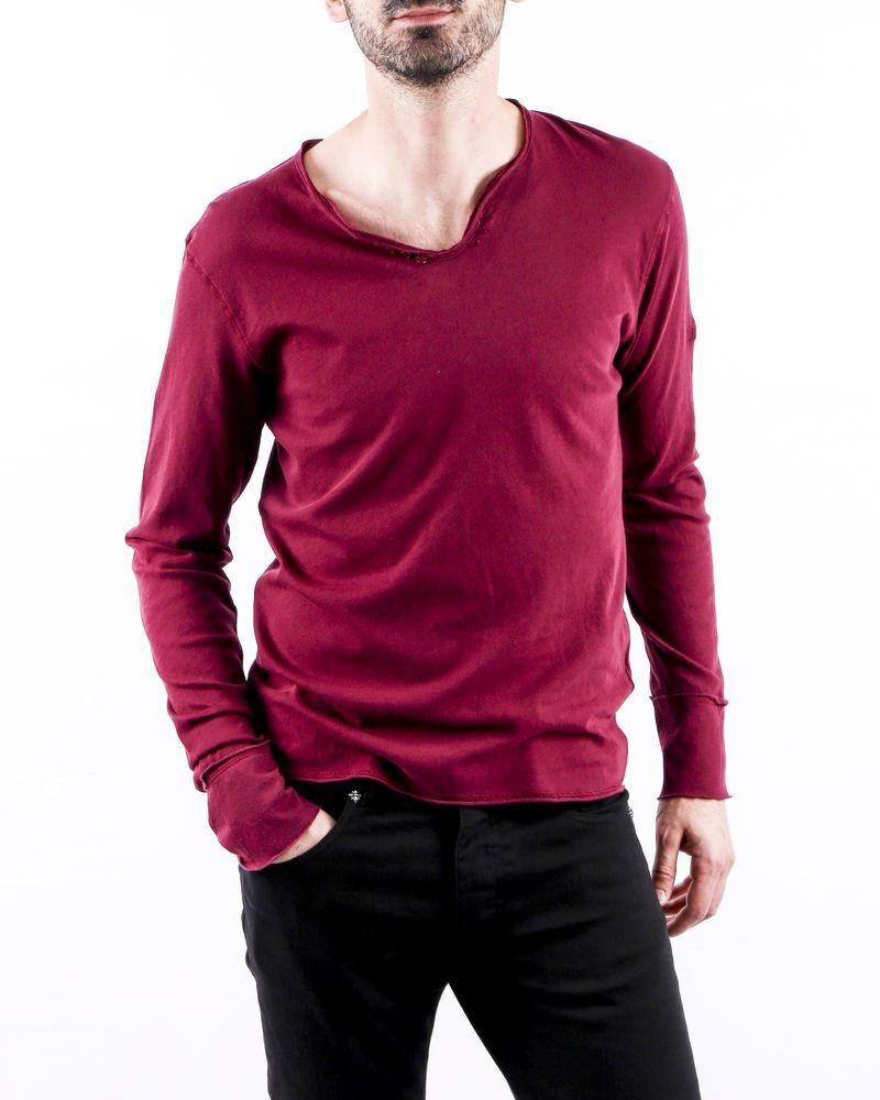 T-Shirt violet manches longues Zadig & Voltaire