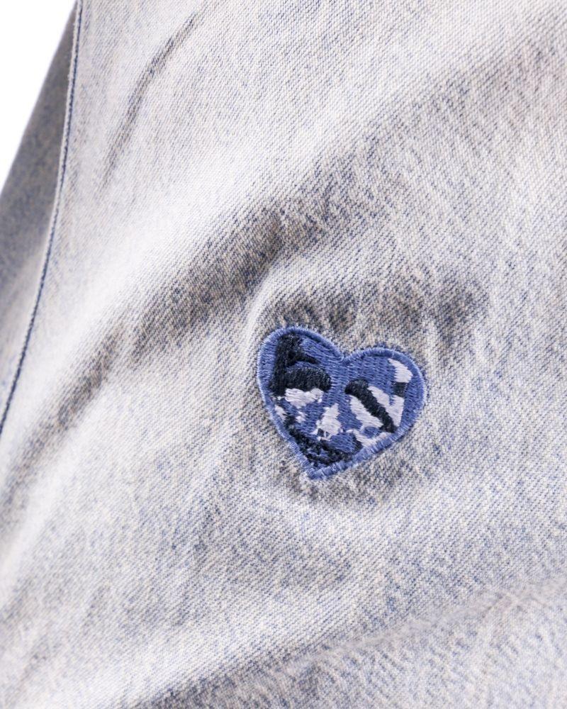 Chemise bleue délavé Zadig & Voltaire