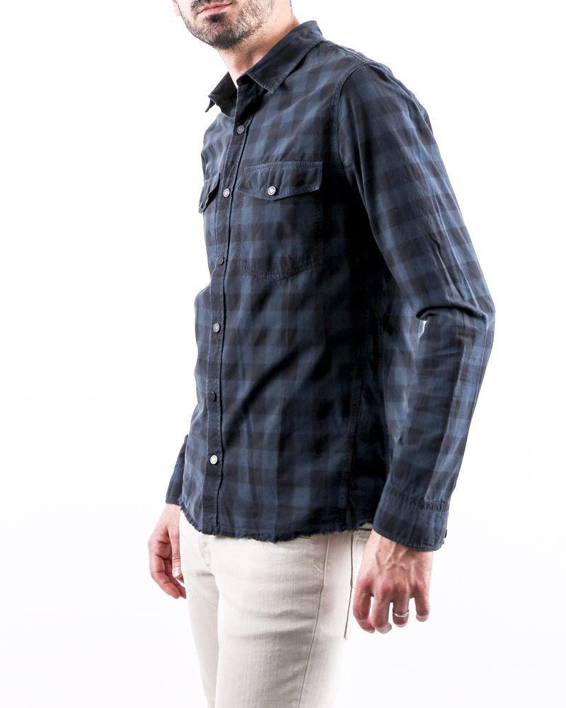 Chemise bleu à carreaux Zadig & Voltaire