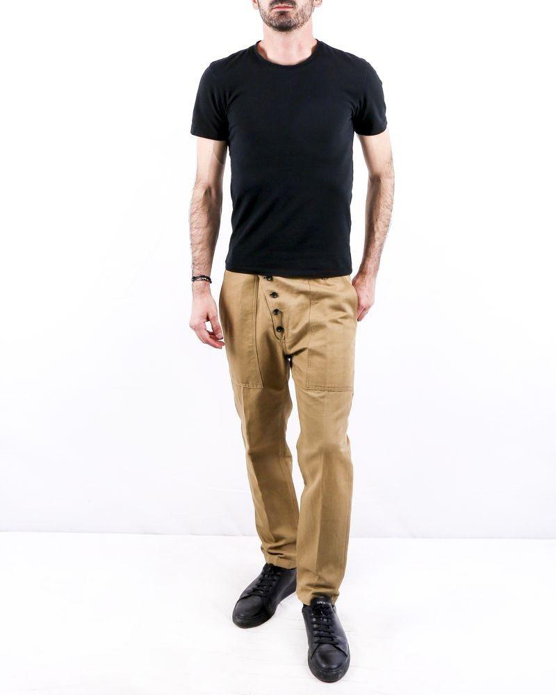 Pantalon en lin beige Ly Adams
