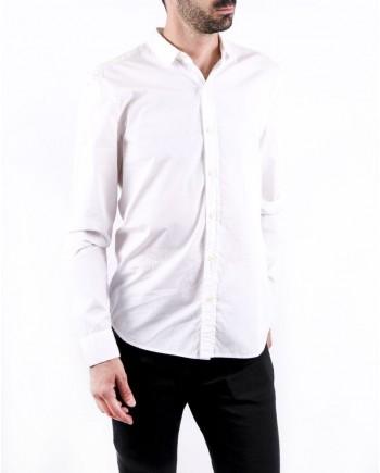 Chemise en coton blanc Balmain