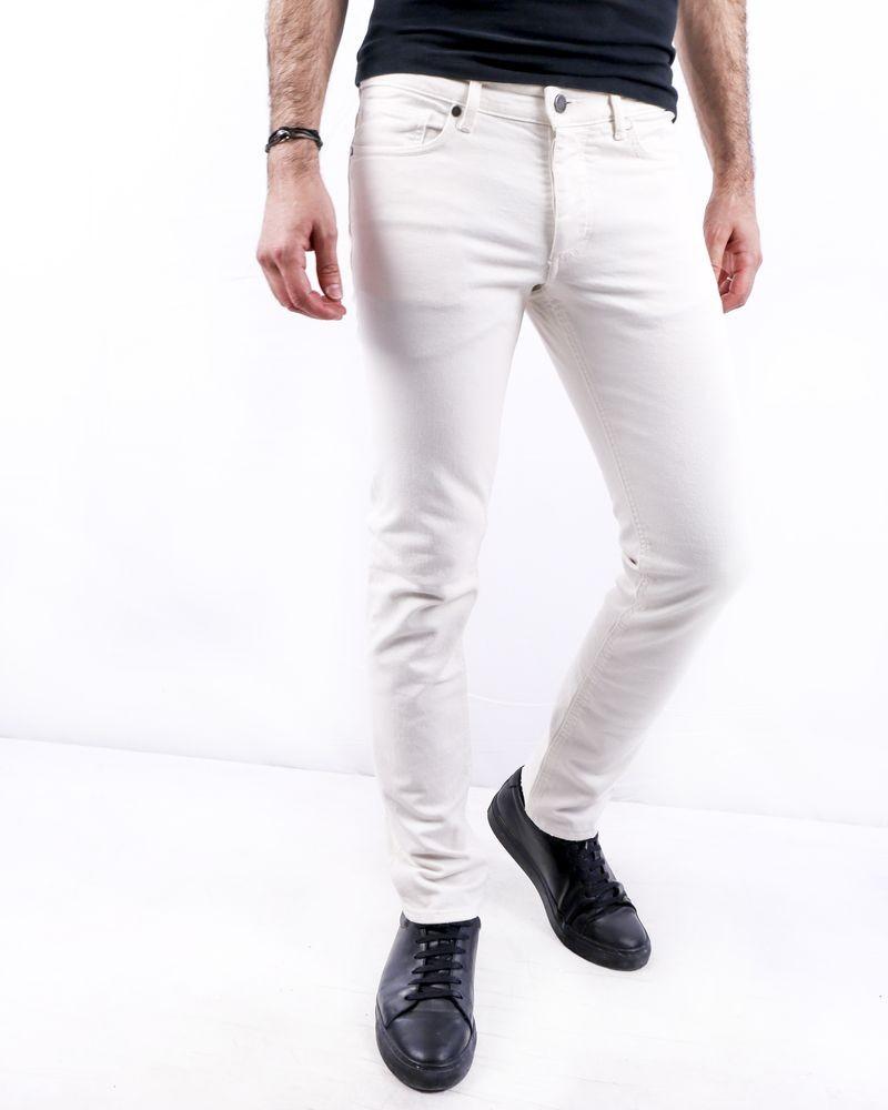Jean en coton blanc Zadig & Voltaire