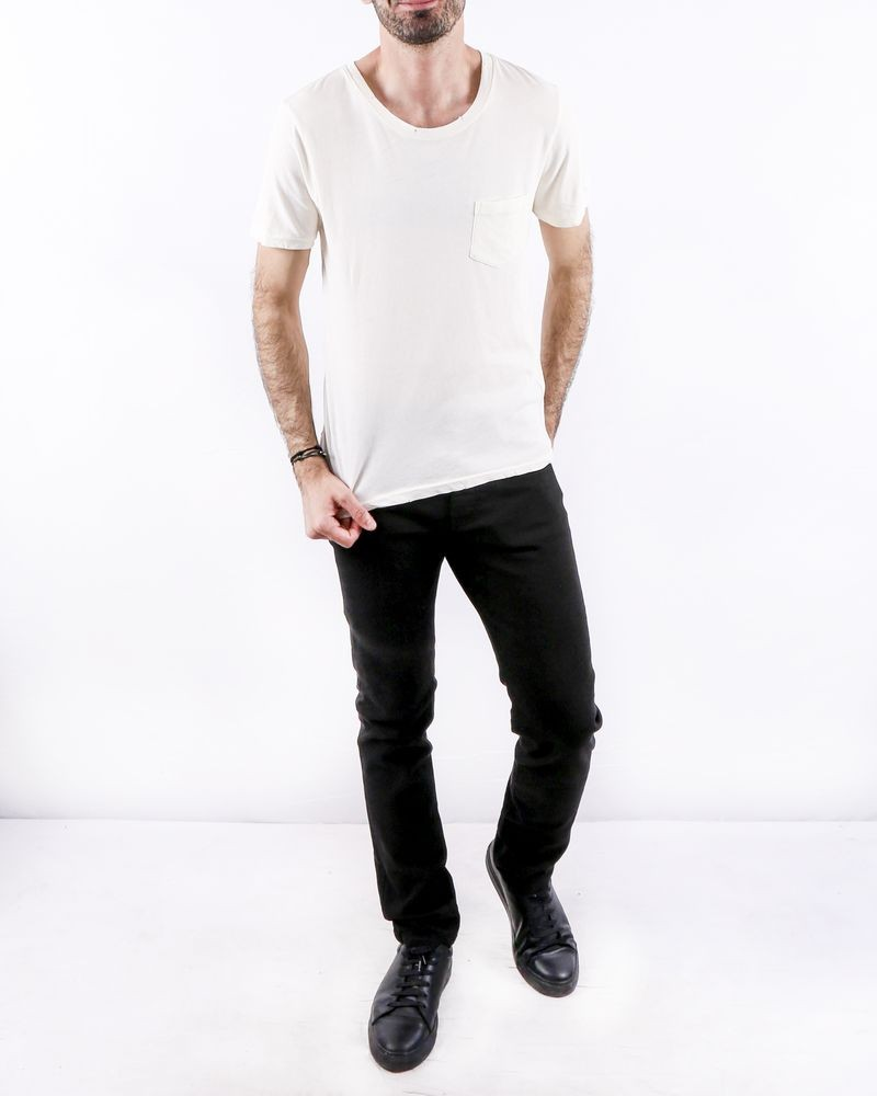 T-Shirt blanc cassé col rond Zadig & Voltaire