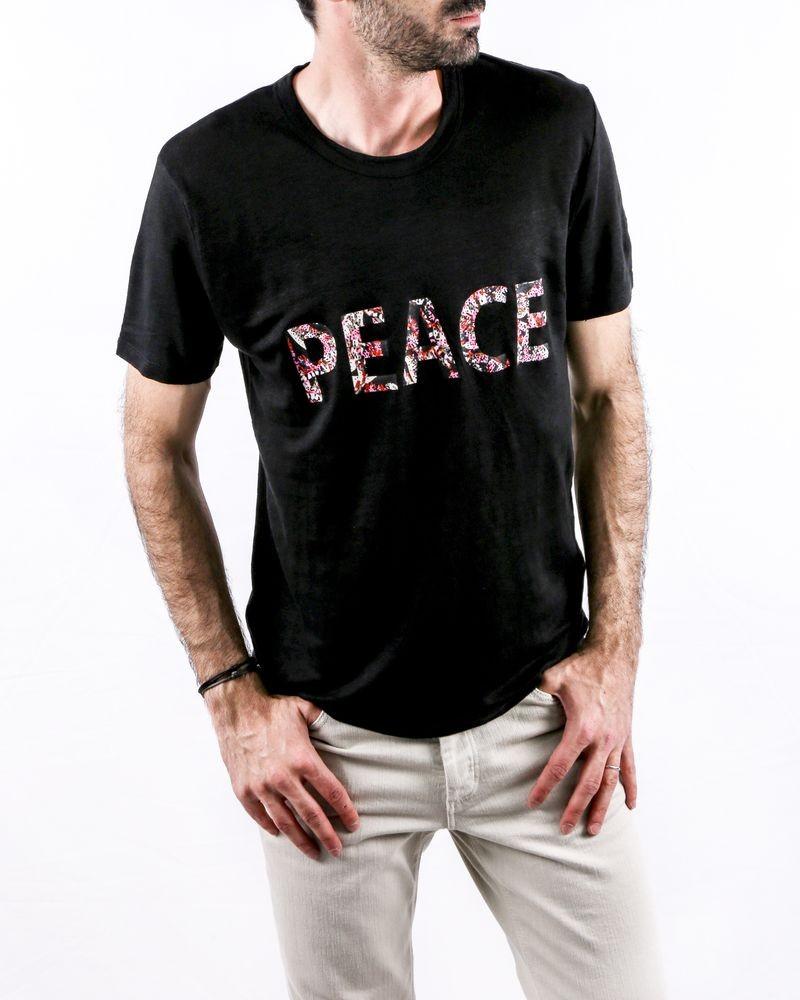 T-Shirt en lin noir Zadig & Voltaire