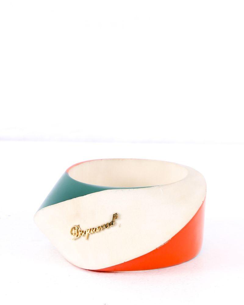 Bracelet tricolore Dsquared