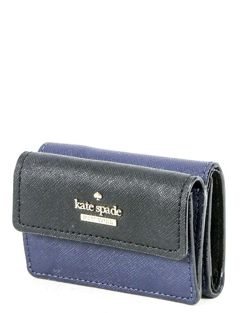 Porte monnaie bleue Kate Spade