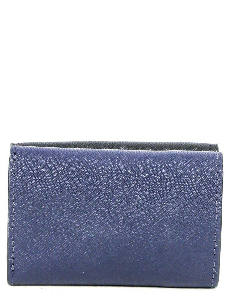 Porte monnaie bleu Kate Spade
