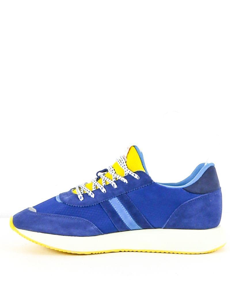 Basket bleue et jaune Serafini