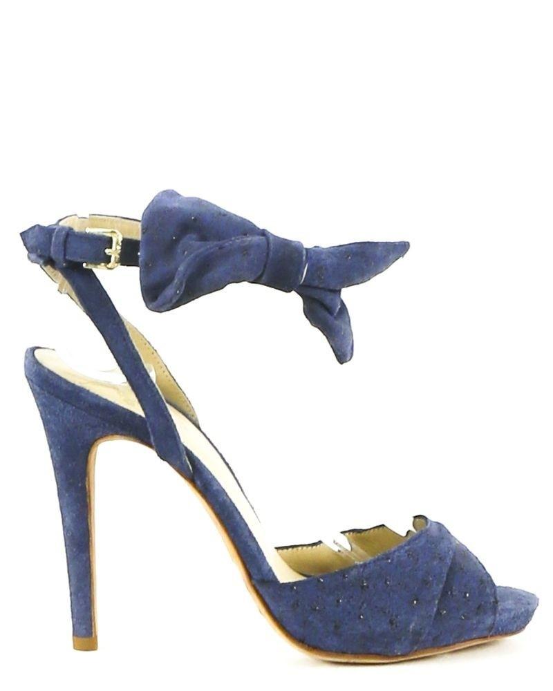 Sandale à talon bleu Paul & Joe