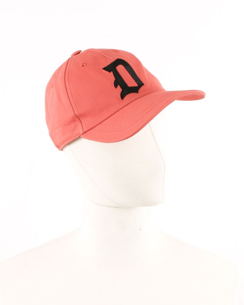 Casquette baseball orange Dondup