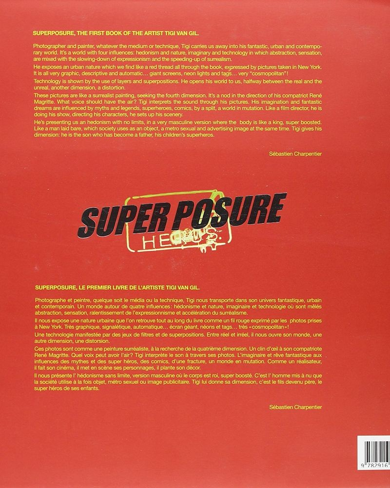 Livre Super Posure By Tigi Van Gil