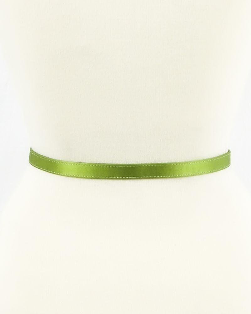 Ceinture en satin vert à nœud Valentino