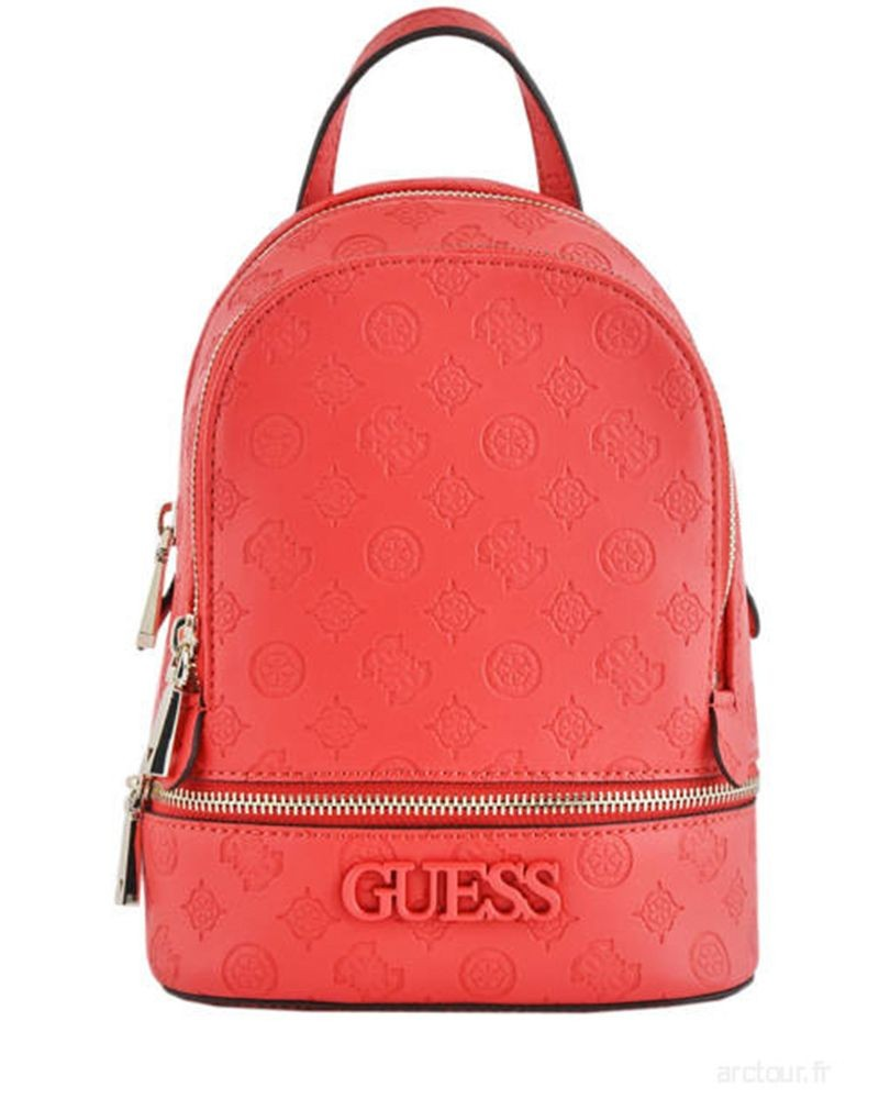 Sac a dos rouge Guess