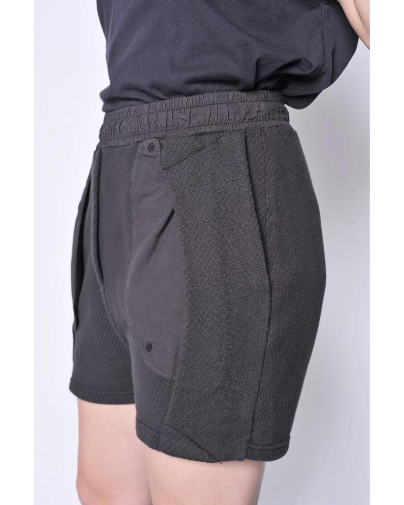 Short coton noir