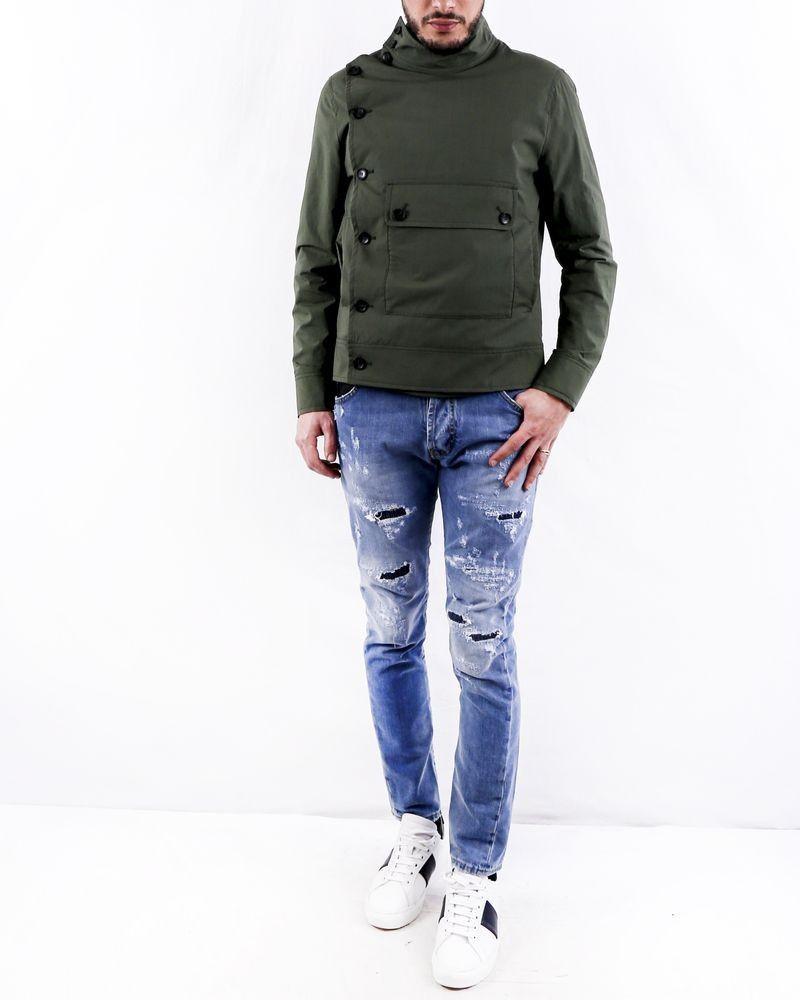 Blouson kaki à poche XL Ly Adams