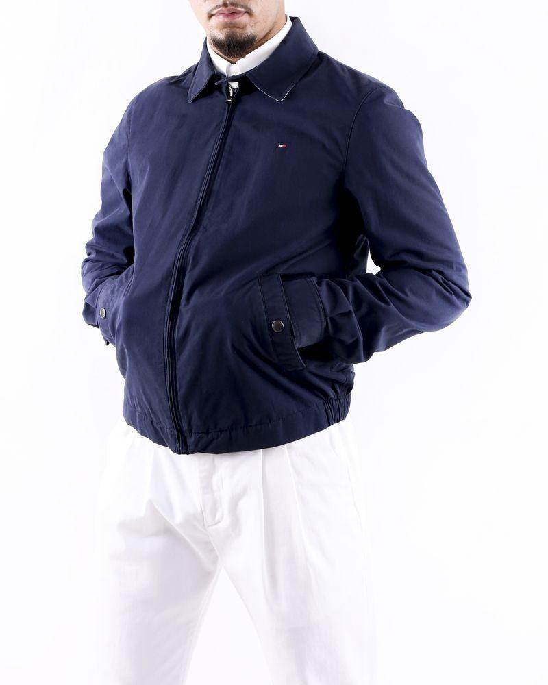 Teddy en coton bleu à poches Tommy Hilfiger