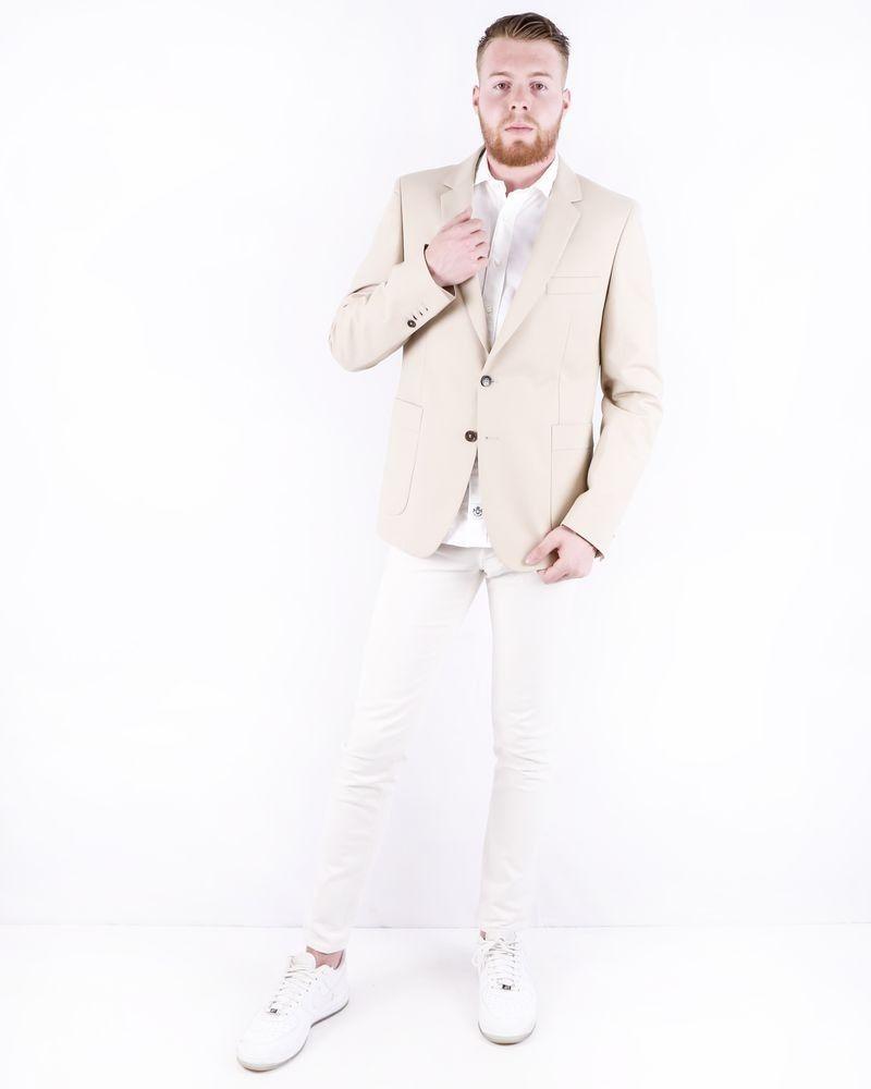 Veste en coton beige à poches fantaisies Lords & Fools