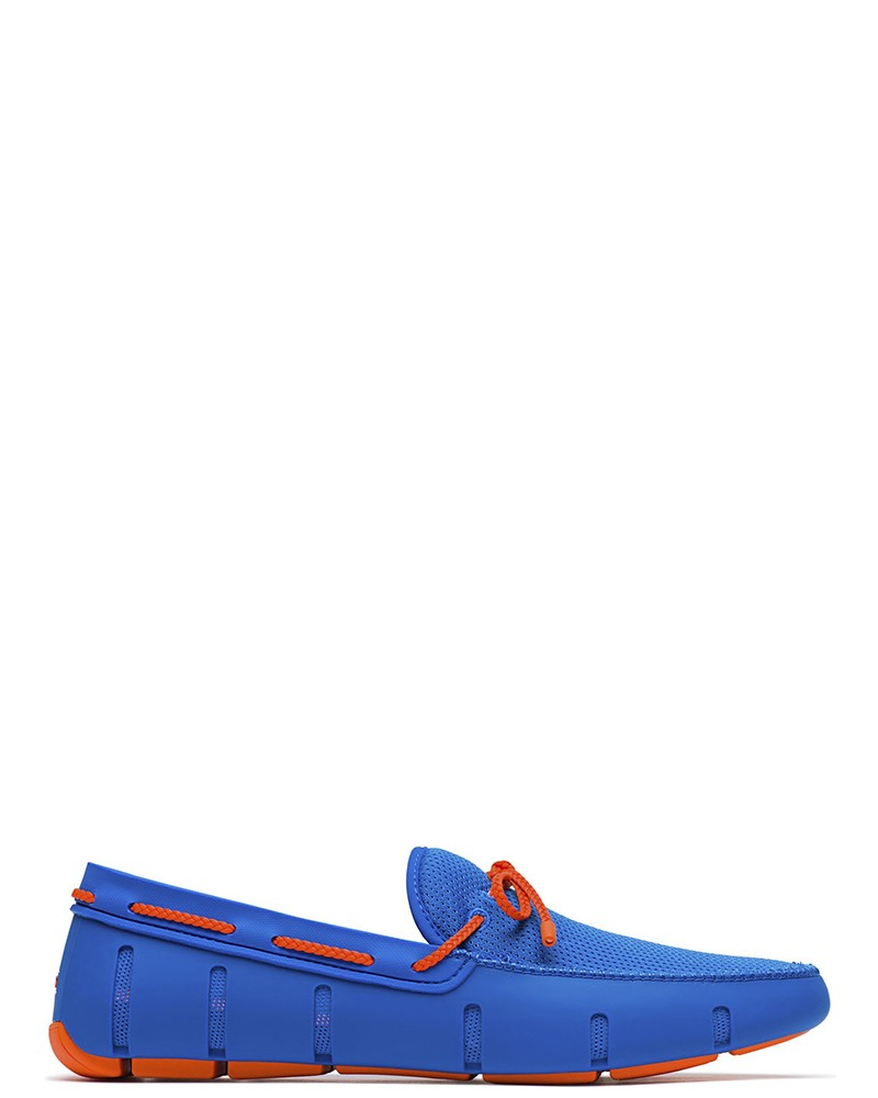 Mocassin bleu et orange Swims