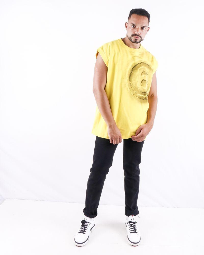 Débardeur oversize jaune Maison Martin Margiela