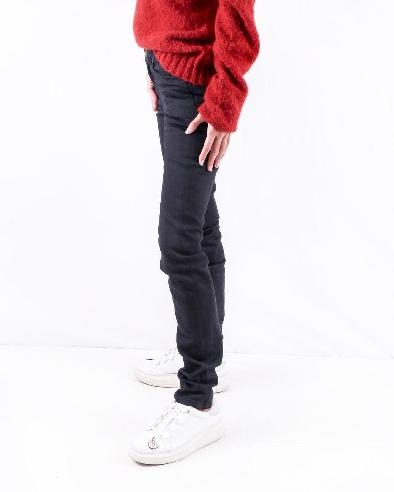 Jean skinny en coton noir Saint Laurent