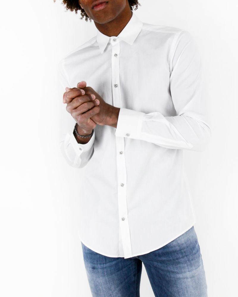 Chemise blanche John Richmond