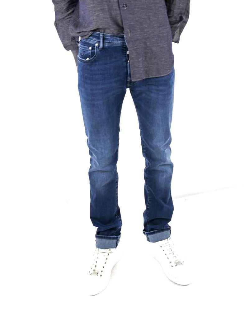 Jean skinny bleu délavé Jacob Cohen