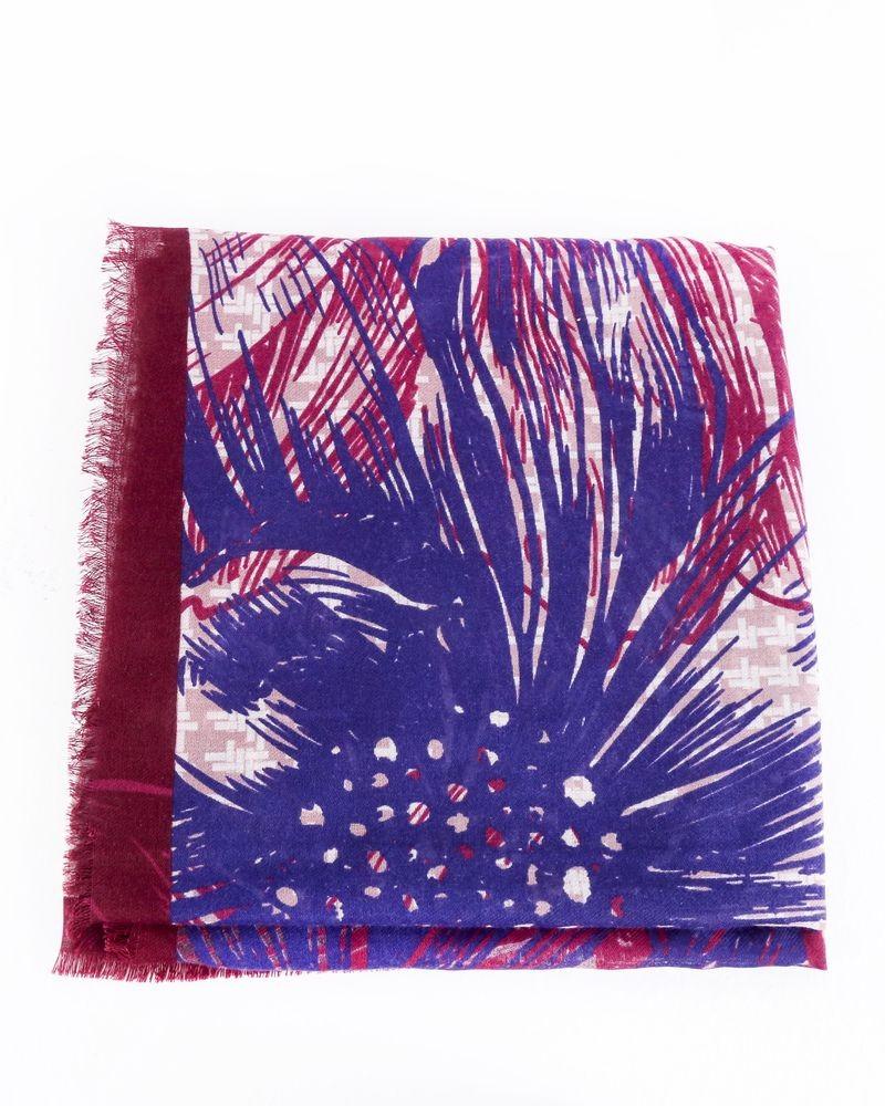 Maxi foulard à motifs floral Guess