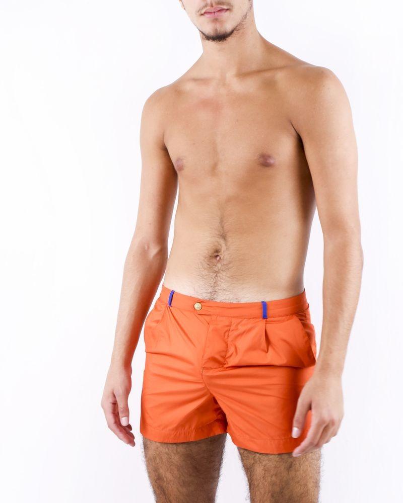 Maillot de bain orange Robinson Les Bains