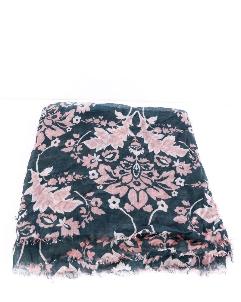 Grand foulard vert à motifs florals Liu Jo