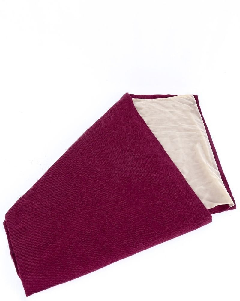 Echarpe bi-matière en soie Maison Margiela