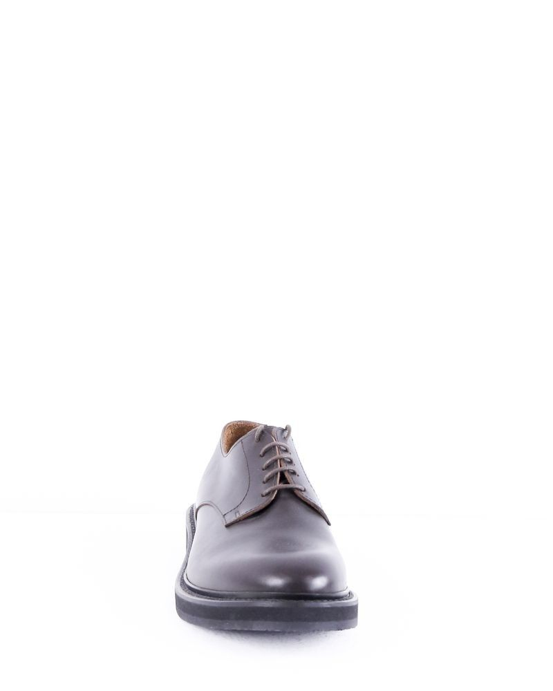 Chaussures en cuir marron Eleventy