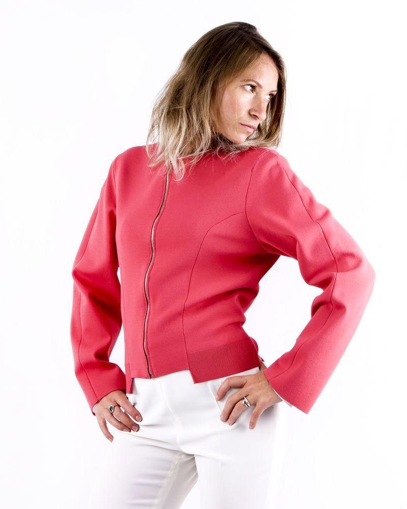 Veste en maille stretch rose Stella Mc Cartney