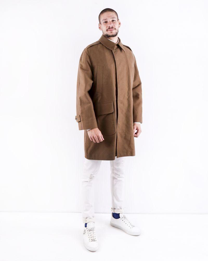 Manteau en coton camel Editions M.R