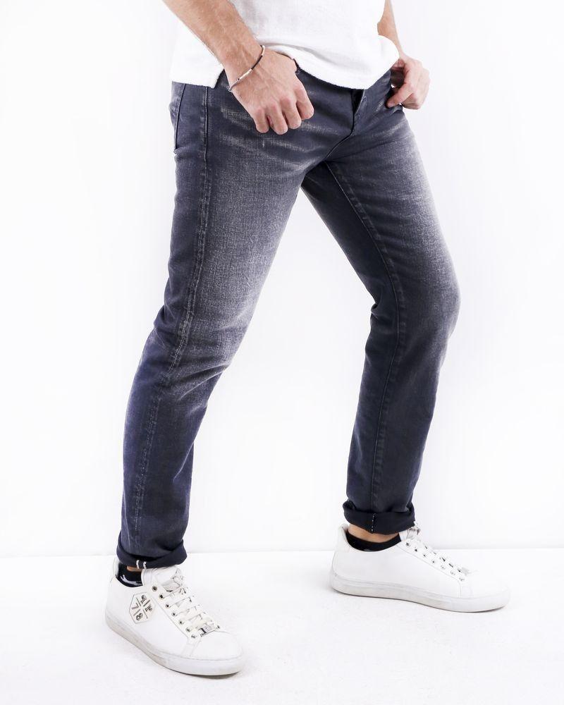 Jean skinny gris délavé BLK DNM
